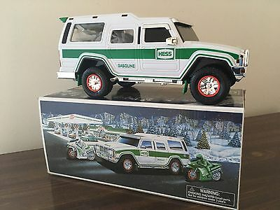 Hess Sport Utility Vehicle and Motorcycles (2004 Hess Toy Truck) - NEW in box