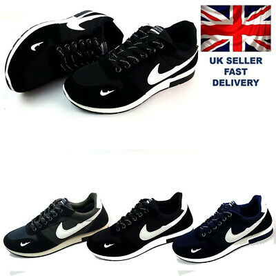 MENS BOYS SPORTS TRAINERS RUNNING GYM SIZES  UK SELLER Sneakers Casual