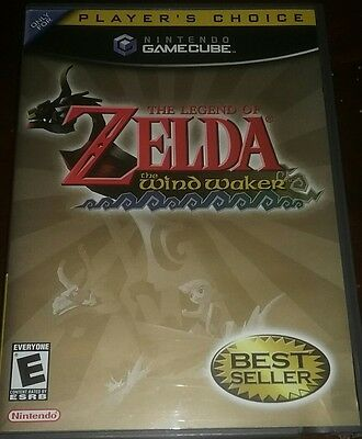 Legend of Zelda The Wind Waker Nintendo GameCube 2003 Complete tested video game