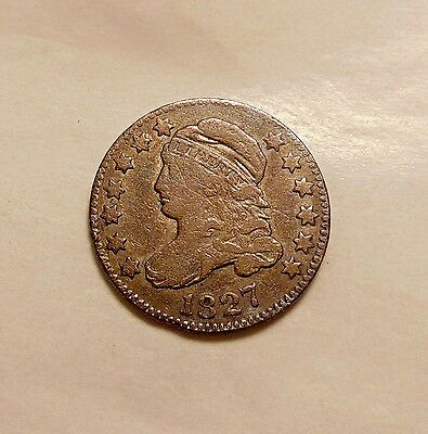1827 Capped Bust Dime - Nice Looking Coin
