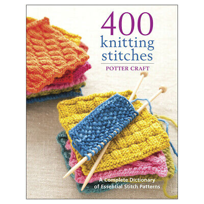 Random House POT-62732 Potter Craft Books-400 Knitting Stitches