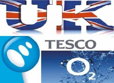 O2/ Tesco UK SIM FACTORY UNLOCK Service For IPHONE 6s Plus 14 Days Fast Service