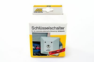 Schellenberg Key switch 25102 for Garagen- & Outer gates Flush-mounted in-wall
