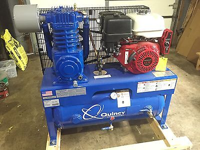 Quincy Gas Powered Air Compressor