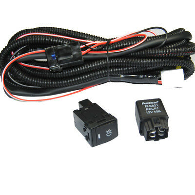 Relay Wiring Harness H11 For Nissan Add-On Fog Lights/ HID Conversion/ LED DRL