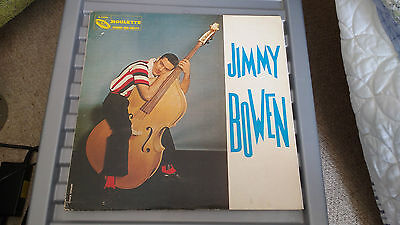 Jimmy Bowen - Country  Lp Record