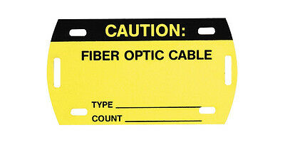 37 Panduit PST-FO Vinyl Self-Laminating Fiber Optic Cable Tag