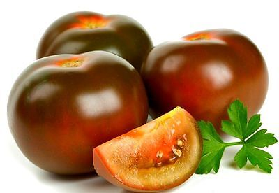 Seeds Tomato Black Prince Giant Vegetable Organic Heirloom Russian Ukraine