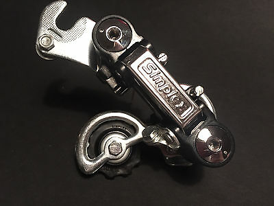 NOS Simplex S001 rear derailleur for Peugeot and other racing bicycles l'Eroica