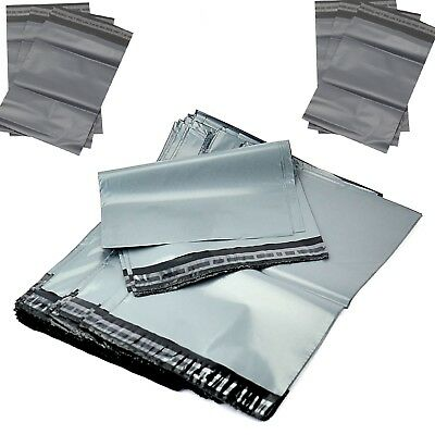 "Grey Strong Mailing Post Postal Poly Postage Self Seal Bags10""x 14"" 255Mm X355Mm"