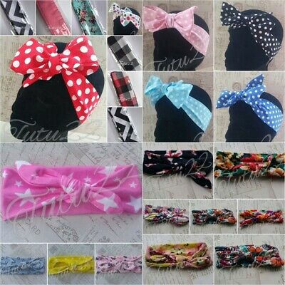Bow Knot Turban Headband for Baby Toddler Girls Kids headwrap, head band