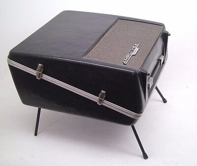 GREAT! AmpliVox Perma Power Roving Rostrum Sound System Portable Lectern S122 WO