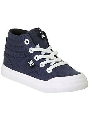DC Evan Smith Navy TX Hi Toddlers Shoe