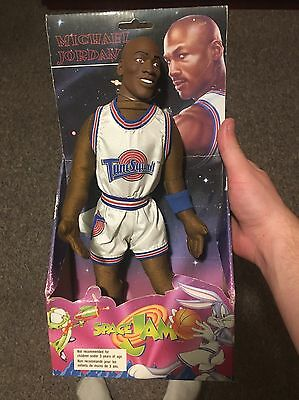 Micheal Jordan Play By Play Plush Doll Space Jam Tune Squad 1996