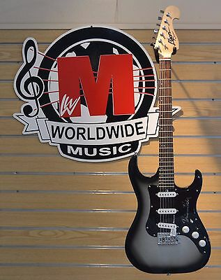 Brian Bell Of Weezer Autographed Lyon Washburn Electric Guitar. Limited Edition