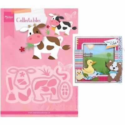 NEW 2017 - Marianne Design - Collectables Dies - Eline's Cow COL1426