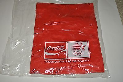 Original 1984 Coca Cola/ Coke OLYMPIC NYLON BACK PACK * Mint in Bag * Unused