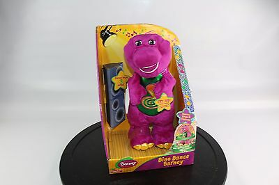 BARNEY Dino Dance Plush Interactive Toy: Talks, Sings, Spins, Dances