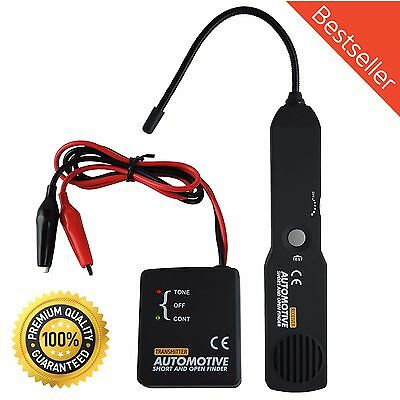 Portable Wire Tracker Car Auto Short Open Circuit Finder Tracer Tester Detector