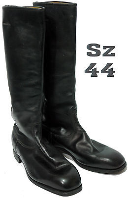 Sz 44 Chrome Leather Soviet Army Officer High Boots Riding