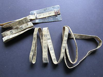 Tailor Seamstress Clothing Measuring Cloth Tape Avertising David Adler Mil