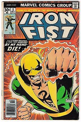 IRON FIST #8 (VG) Danny Rand! Now in his own Netflix Show! Marvel Defenders!