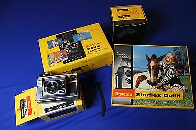 Beginners Collection of 1950's Kodak Camera's 4 Items