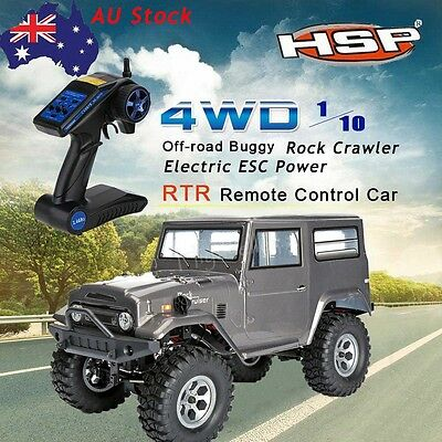 HSP 136100 1/10 Scale Model 4WD Vehicle off-road Rock Crawler RC  Car Radio #WH2