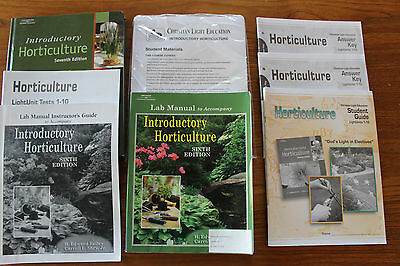 Introductory Horticulture, Reiley & Shry, 7th edition, new (+ extras)