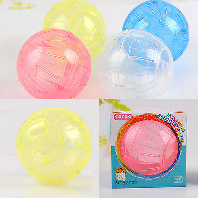 Running Ball Plastic Grounder Fun Jogging Hamster Crystal Durable Pet Small Toy