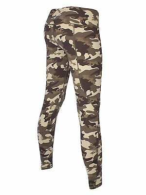 Womens Gym BLOCKOUT Camo Fitness Full Length Tight Ladies Workout Limited Avail