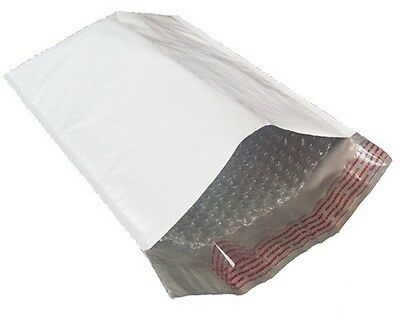 "50 #7 Poly Bubble Mailers 14.25x20 Padded Envelopes White Envelope Bags 14""x 20"""