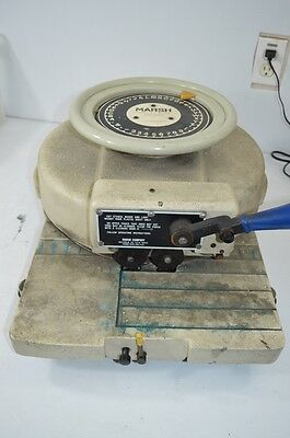 "Marsh Stencil Machine Model R 1"" Character, Hand Operated Painting, Signs, DIY"