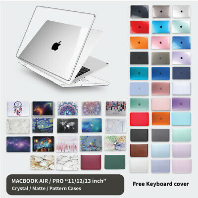 "MacBook Hard Case + Keyboard Cover For Apple Air 11"" 13"" 12"" Pro 13 inch"