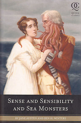 Sense and Sensibility and Sea Monsters by Jane Austen, Ben H. Winters (Book,...