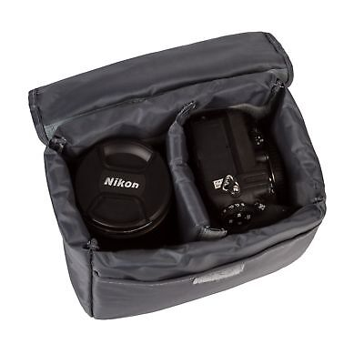 Waterproof DSLR SLR Camera Insert Padded Partition Lens Bag Protector Pouch Case