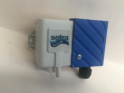 Setra 2661-OR5WD-11-T1-C  Low Differential Pressure Transducer