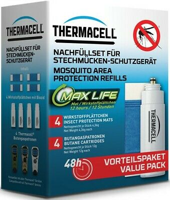 THERMACELL Nachfüll Sparpackung L-4 ***NEU***