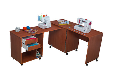 Sewing Machine Cabinet Table Comfort 8. Hobby Desk Variations Of Colours.