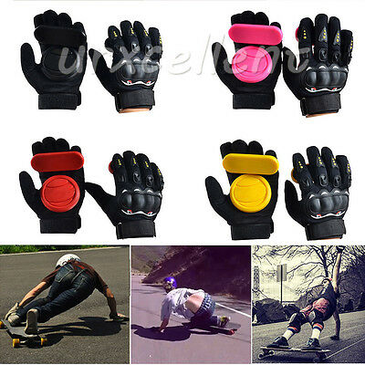 Professional Grip Longboard Skateboard Downhill Slide Sliding Gloves Foam Palm