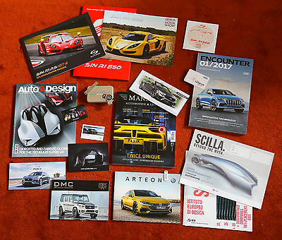 2017 Genf Autosalon Presse Geneva Motor Show collection presskit USB Italdesign