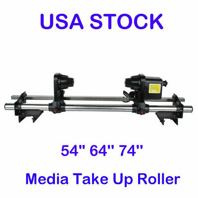 Roland SP300/RS640/FJ740 Mutoh 1614/1604 Epson Automatic Media Take Up Reel 110V