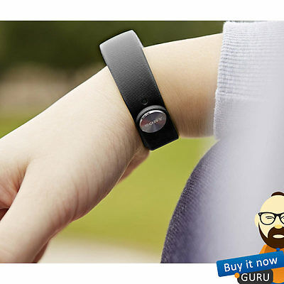 Genuine Sony SWR10 SmartBand Activity Tracking Tracker Wristband Xperia Black