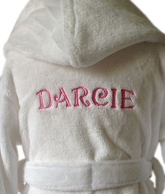 baby girls dressing gown 0-6 months white name only design