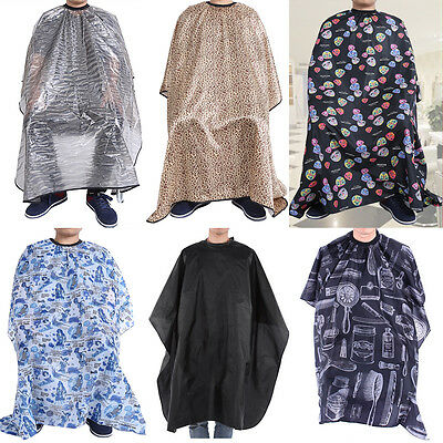 New Fashion Hair Cutting Hairdresser Barbers Salon Hairdressing Cape Gown Cloth