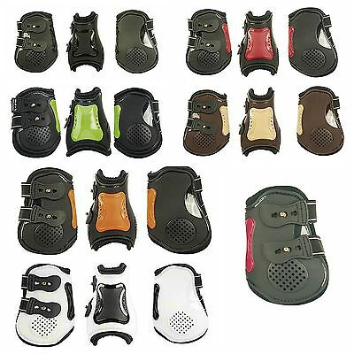 HKM Horse Riding Protection Equestrian Shock Absorbing Air Fetlock Boots