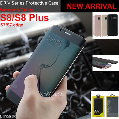 Samsung Galaxy S8/S8 Plus Genuine Rock Flip Smart Screen View Window Cover Case