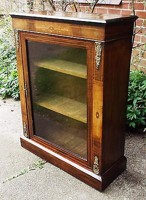 Superb Antique Ormolu Bookcase or Display Cabinet Delivery Possible