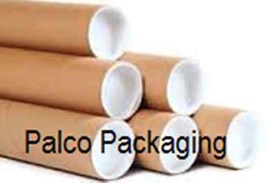 "2"" x 12"" Kraft Mailing Tube with plugs (50/case)"