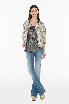 TWINSET Giacca Donna Finiture con Frange Tasche Laterali JS6253
